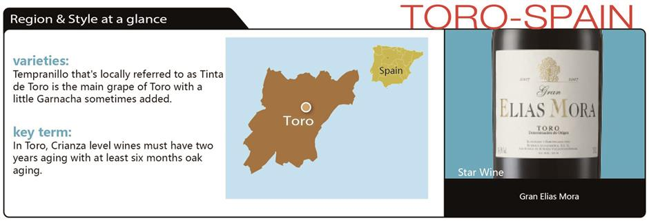 Spanish Toro tops the list as a goose-friendly dish