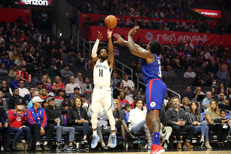 Grizzlies use balanced scoring to beat Clippers
