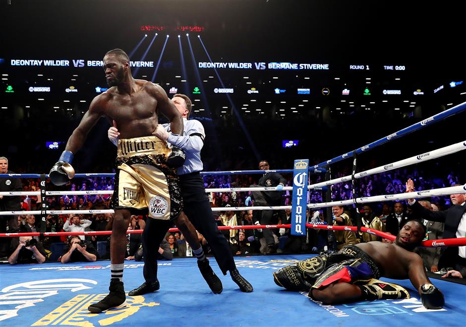 Wilder knocks out Stiverne in 1st round