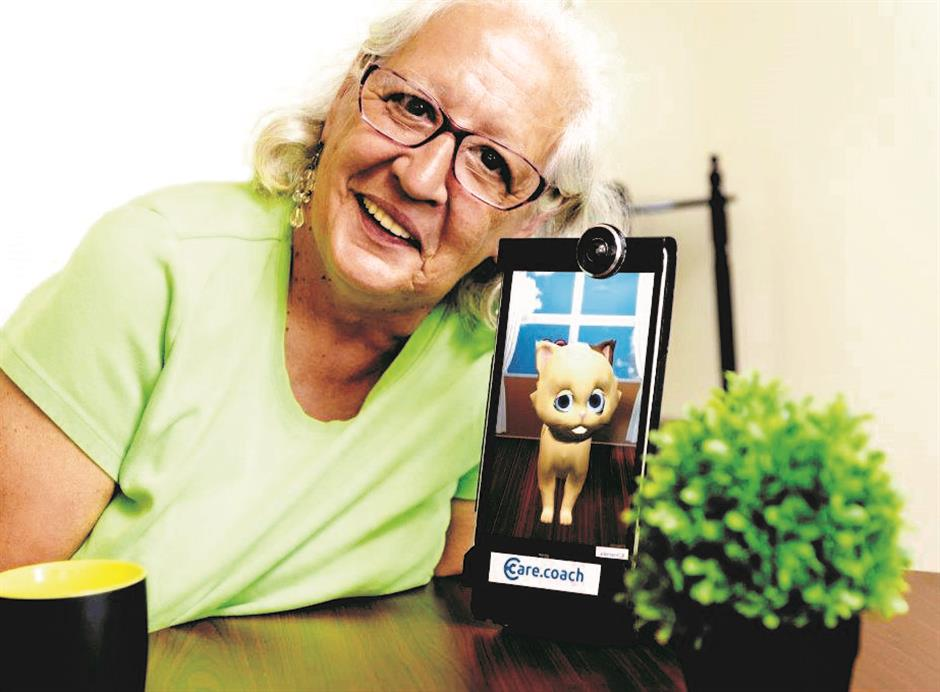 A new tool in aged care: digital pets