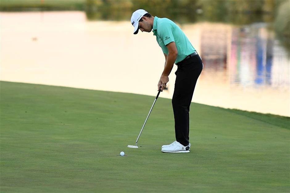Cantlay wins Las Vegas playoff for first PGA title