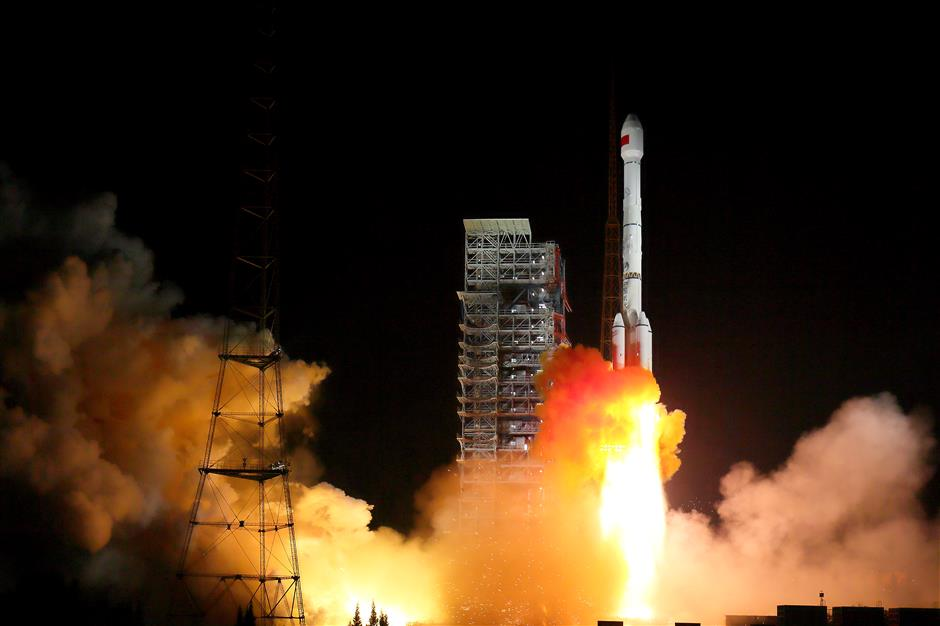 2 satellites launched in single rocket