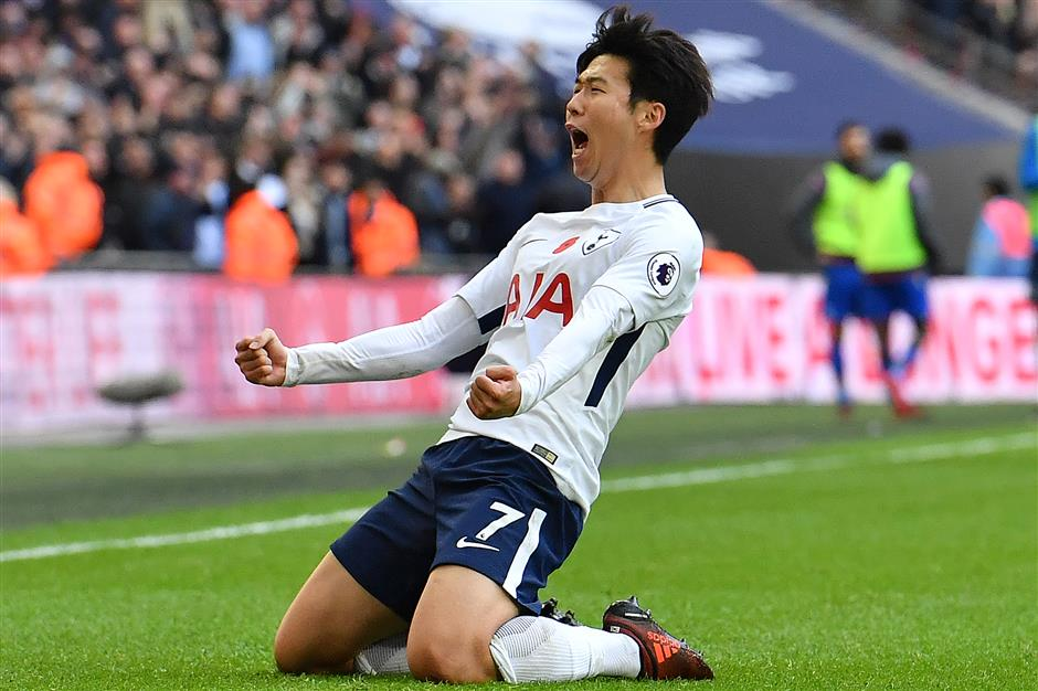 Spurs milestone man Son hungry for more goals