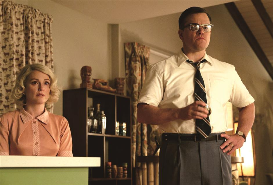Clooney's 'Suburbicon' just too suburban