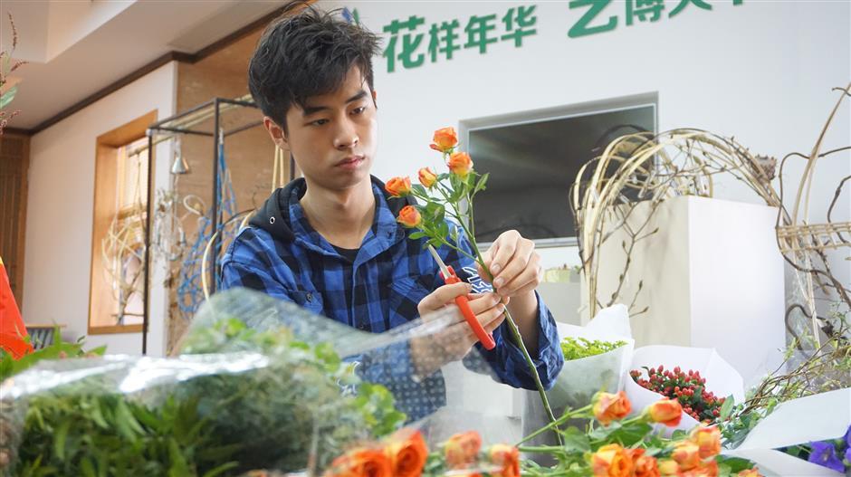 Pan Shenhan: Theflorist with magic hands