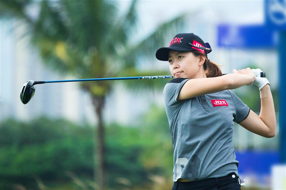 Yoo sets early Blue Bay pace on Hainan