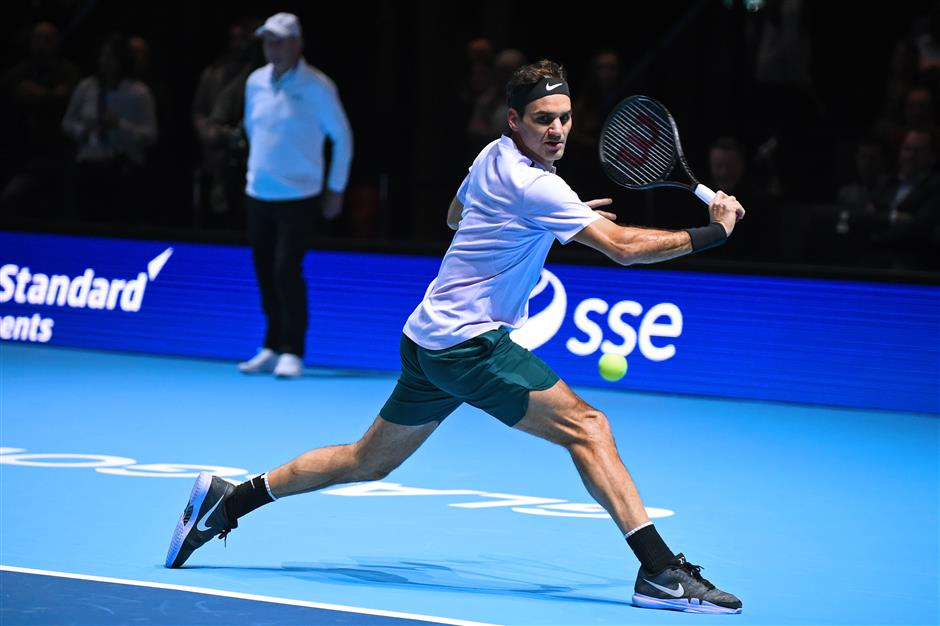 Federer paired with Zverev in ATP Finals draw