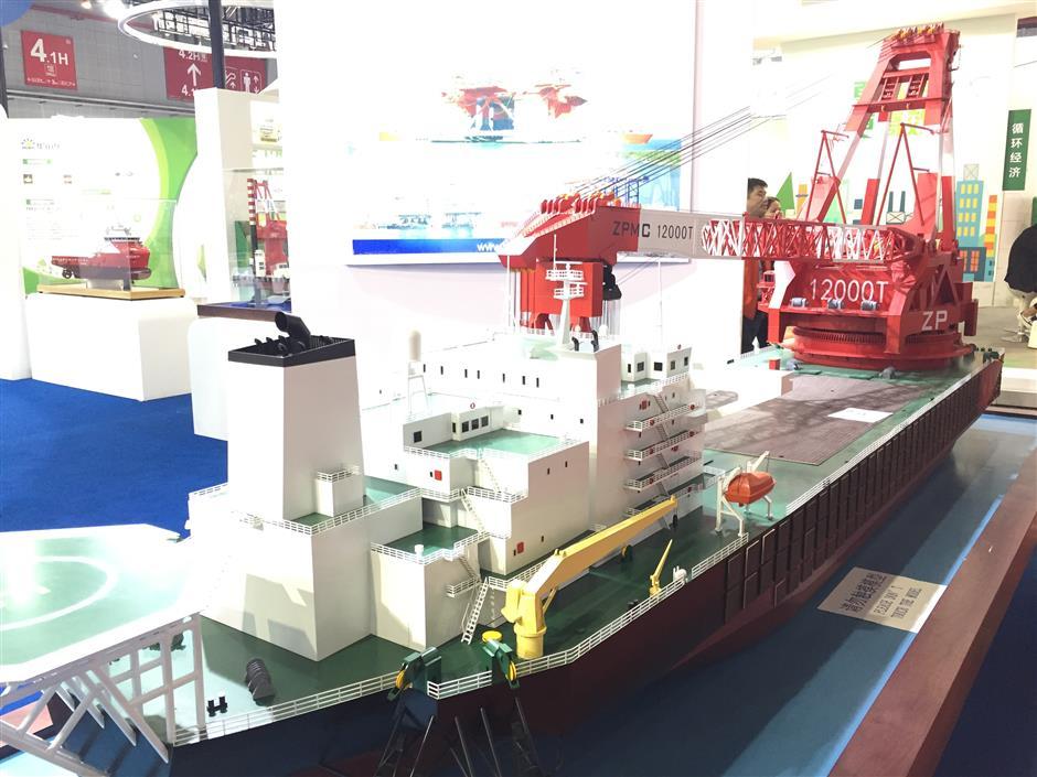 Shanghai Zhenhua receives special award for world's largest heavy lift vessel