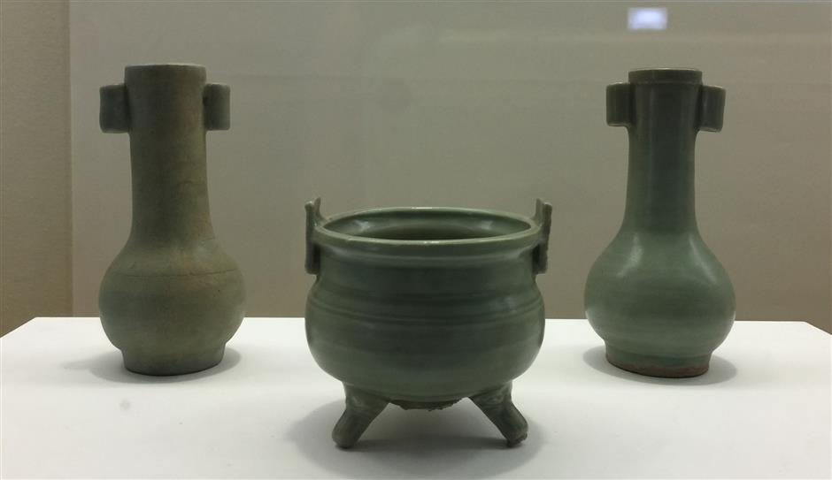 Fascinating exhibition displaying ancient pottery of imperial court