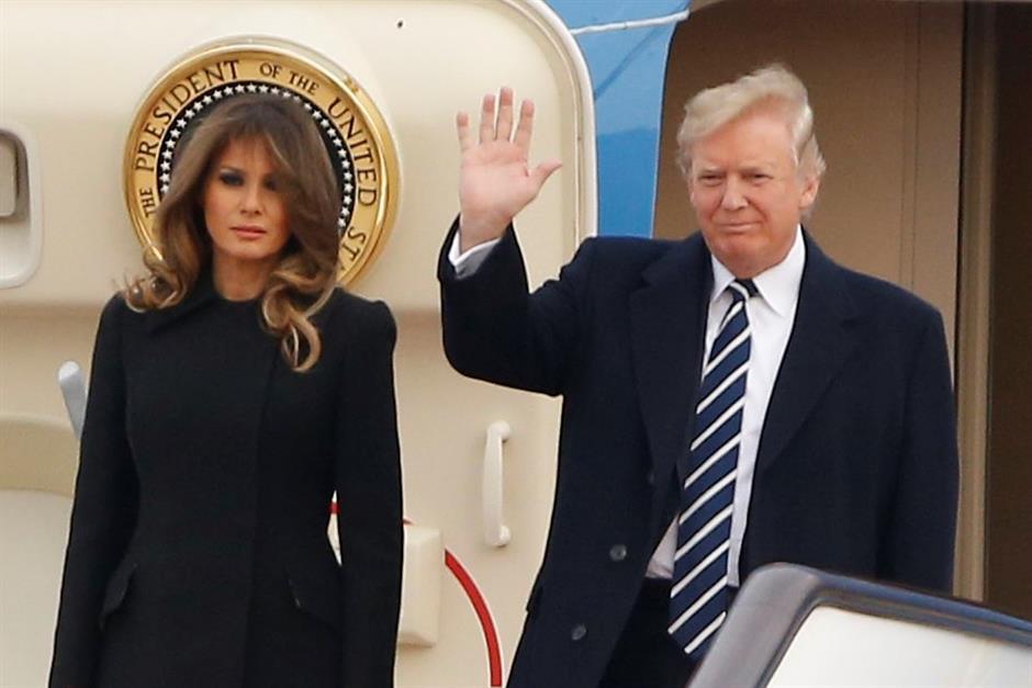 US President Trump starts state visit to China