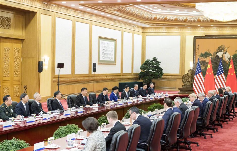 Xi says China-US ties 'at new historic starting point'