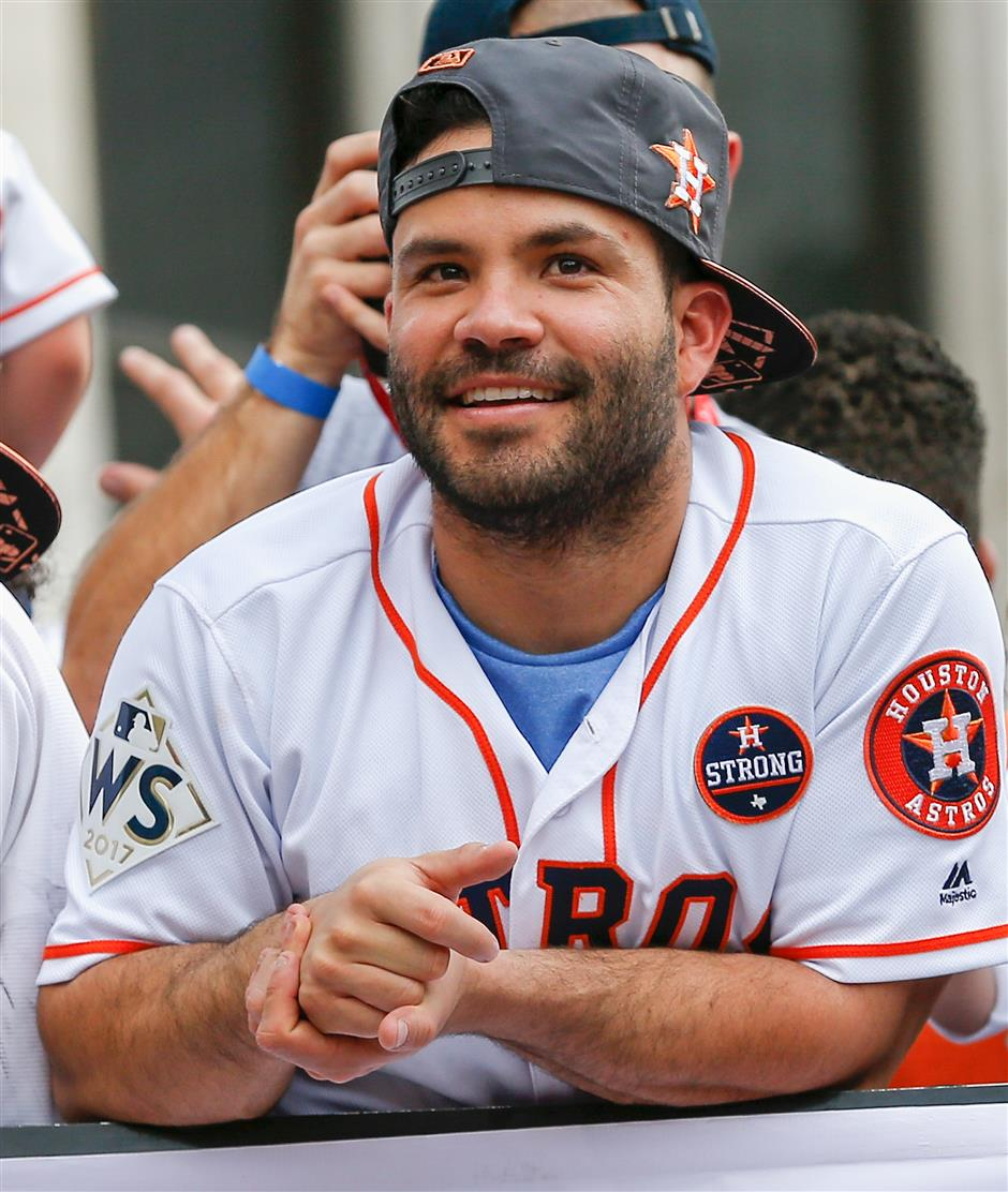 Altuve voted best by MLB players for second year in a row