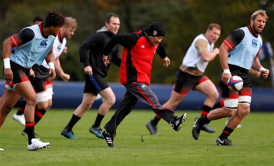 England rests Farrell, Itoje for Argentina
