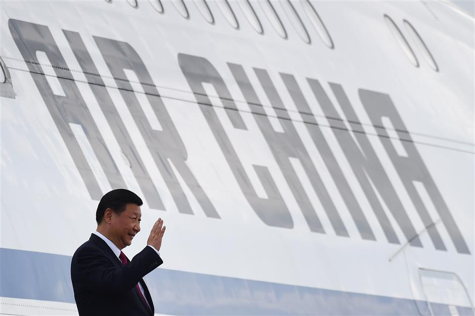 Chinese president arrives in Vietnam for APEC meeting, state visit