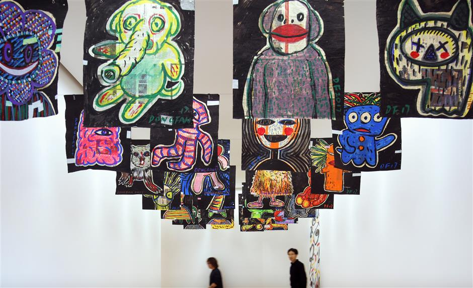 New York urban graffiti inspires Chinese artist in solo 'You Are Not Alone' exhibition