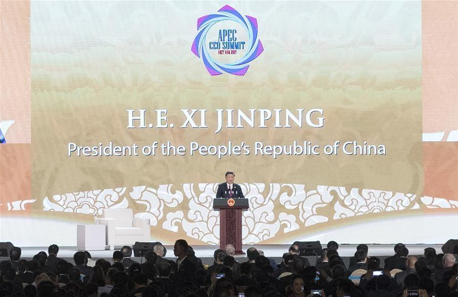 Xi presents China's 'new journey' in first overseas speech after historic Party congress