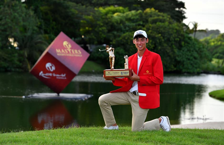 Shin shakes off 'rookie mistake' penalty for debut tour win