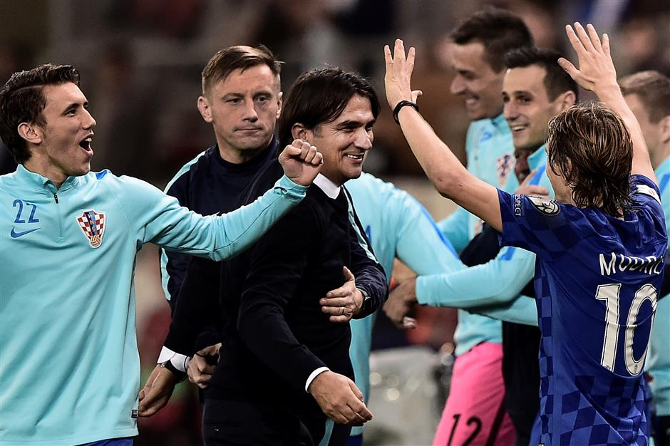 Croatia sees off Greece to seal World Cup spot