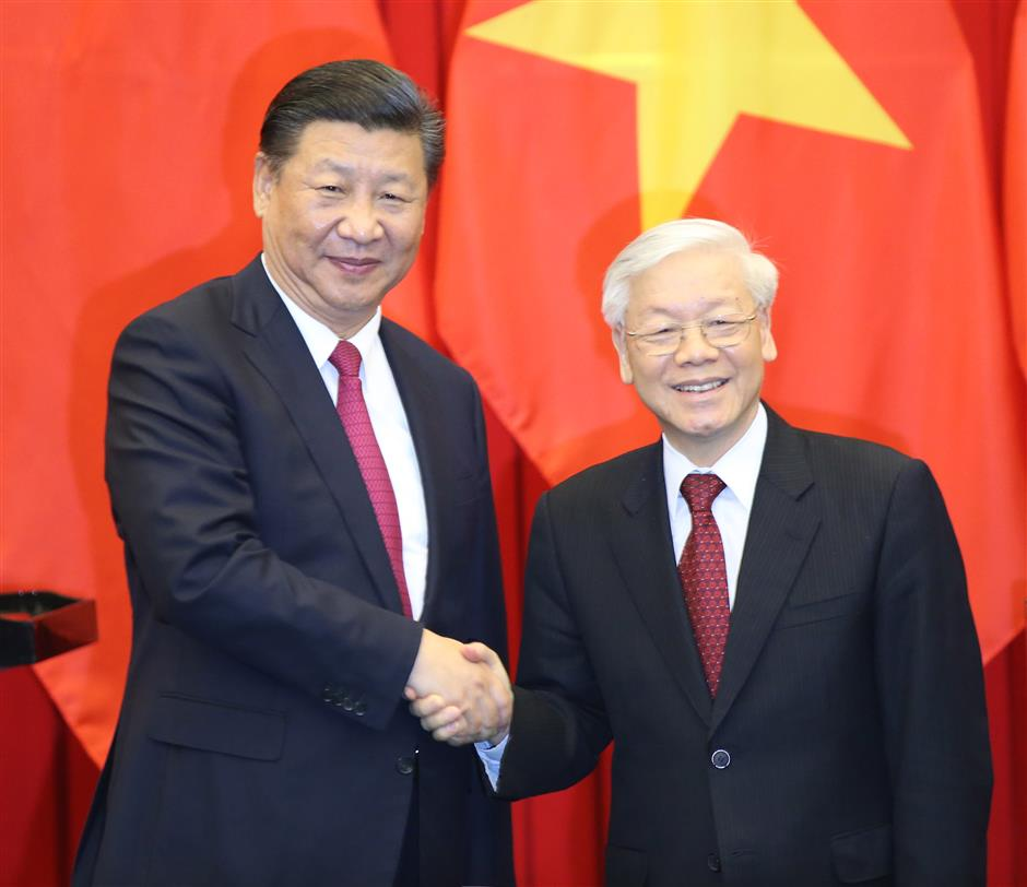 China, Vietnam agree to deepen partnership under new circumstances