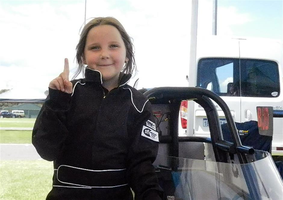 Girl, 8, killed seeking dragster license