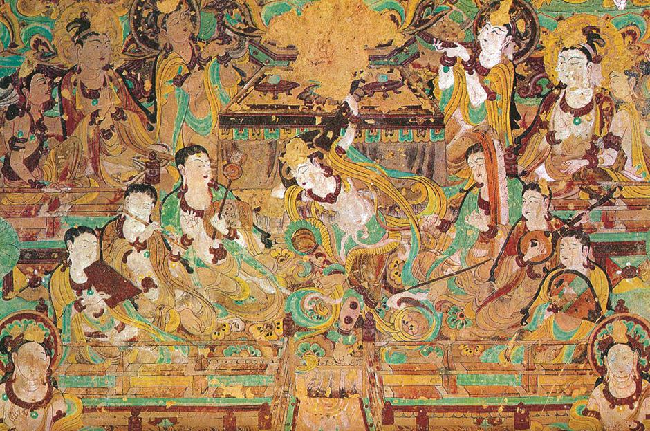 Dunhuang Murals: gem in the world's history of art