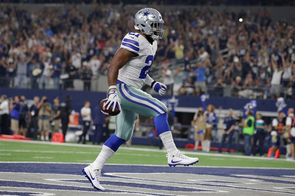 Cowboys' Elliott drops appeal, will serve rest of 6-game ban