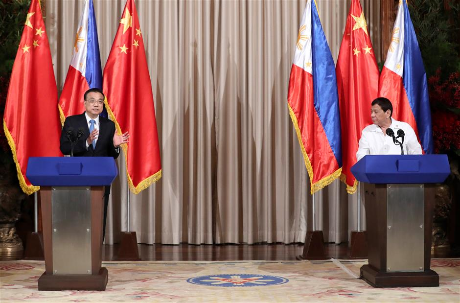 China, Philippines issue joint statement to advance ties, promote cooperation