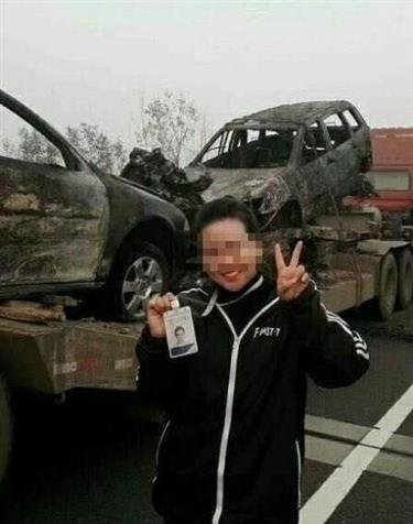 Radio station employee sacked for taking selfies at traffic accident scene