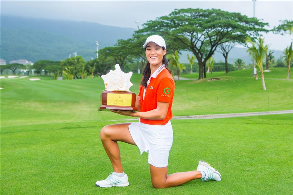Brilliant Boutier basks in Sanya win
