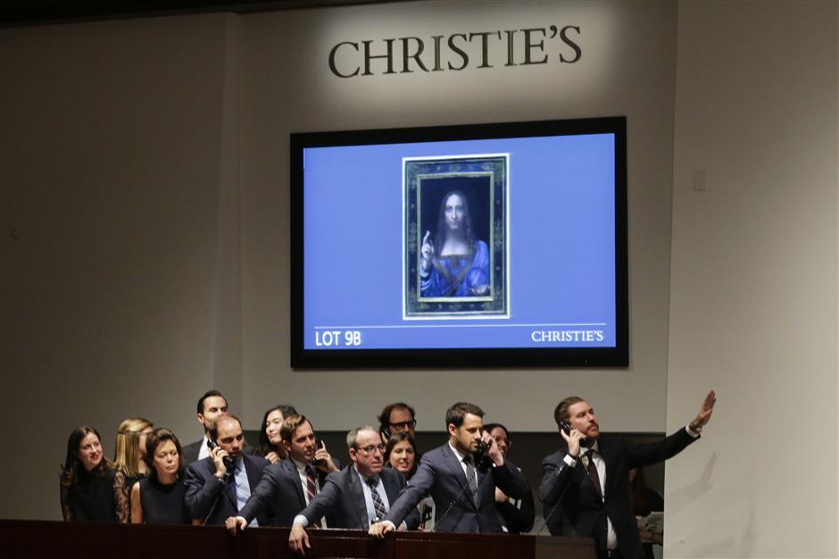 Da Vinci portrait smashes record sale