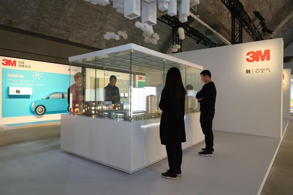 3M purification exhibition like a breath of fresh air