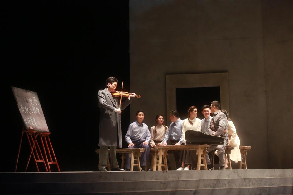 Musical about famous Chinese composer makes debut