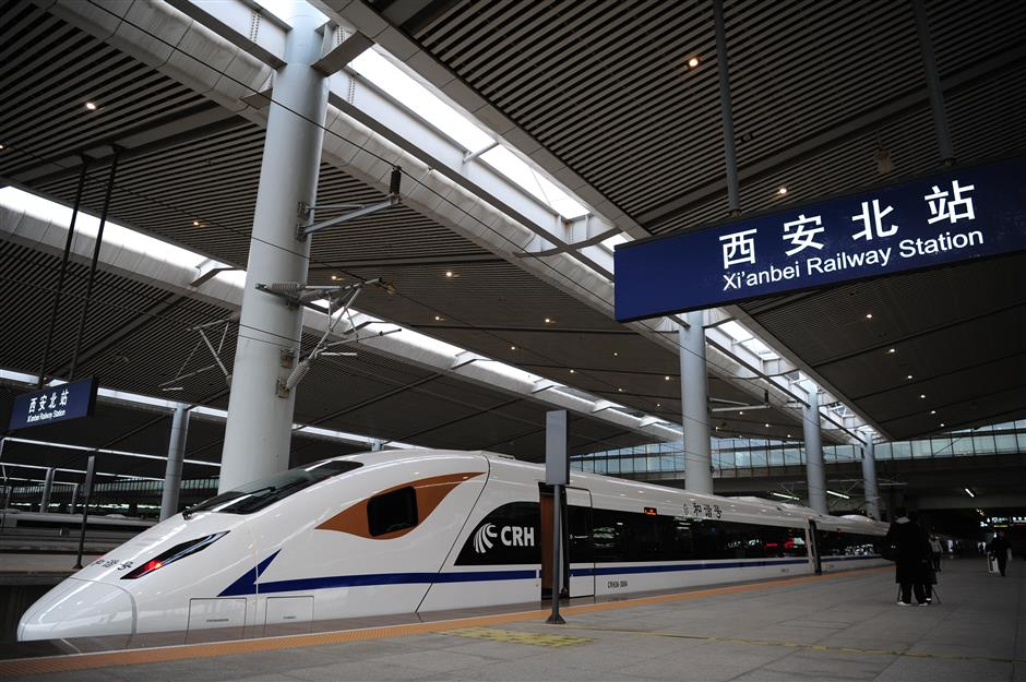 Xi'an-Chengdu high-speed railway enters test run