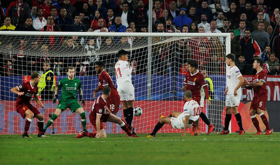 Reds collapse again, and again against Sevilla