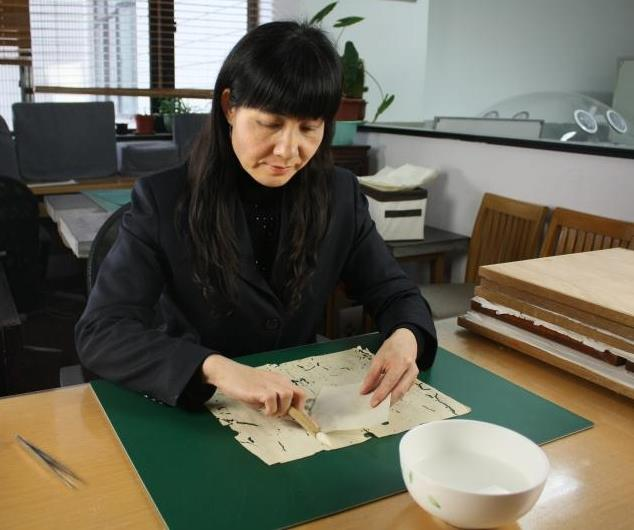 Giving ancient books, documents new life