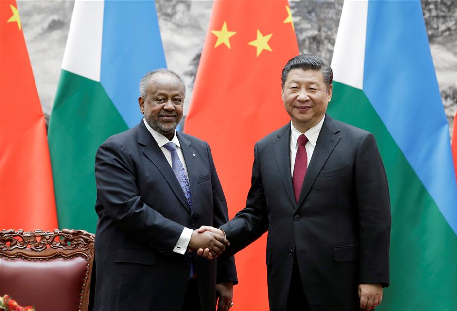 China welcomes Djibouti to take part in Belt and Road initiative