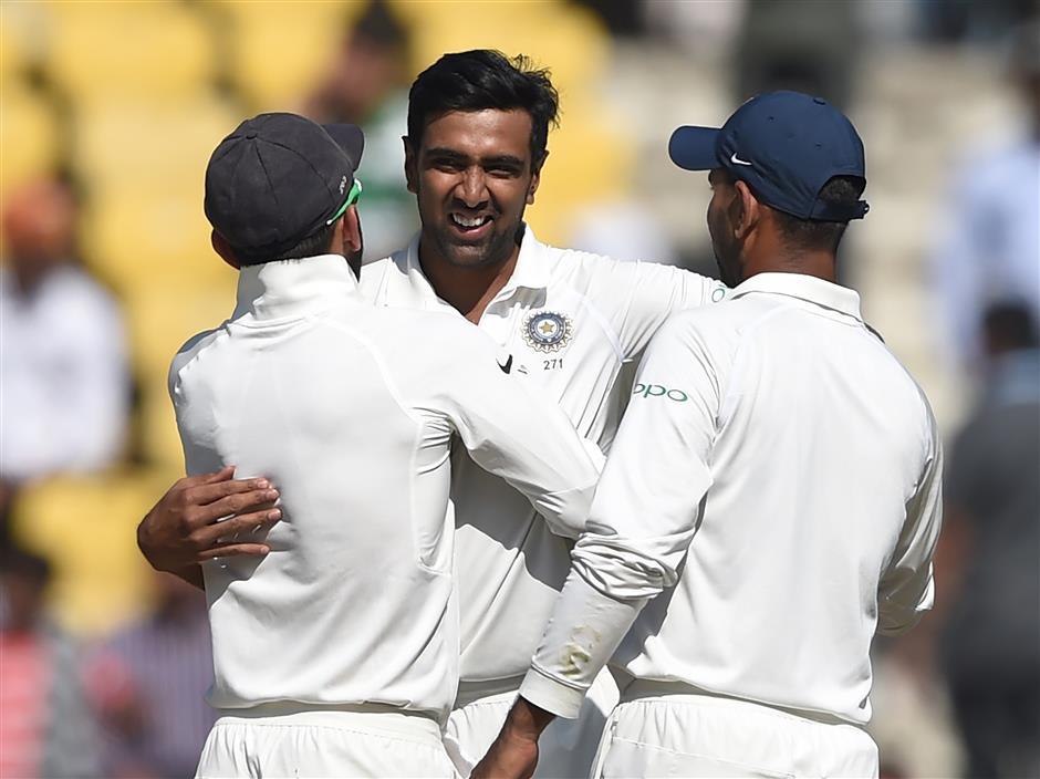 Milestone man Ashwin spins India to big win