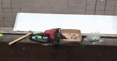 Firefighters save boy stuck between two walls