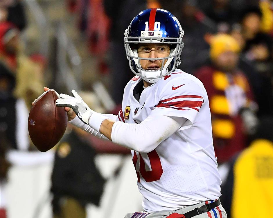 Manning benching low point of a year the Giants went south
