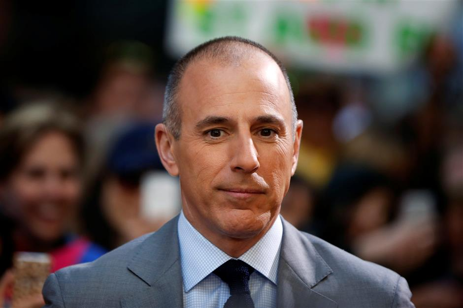Matt Lauer sacked over sex complaint