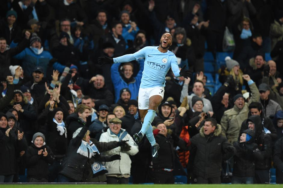 Sterling blossoming into Manchester City's man for the big occasion