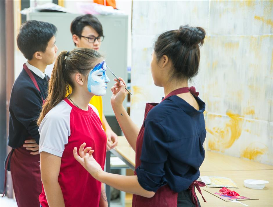 Arts in classroom builds personality