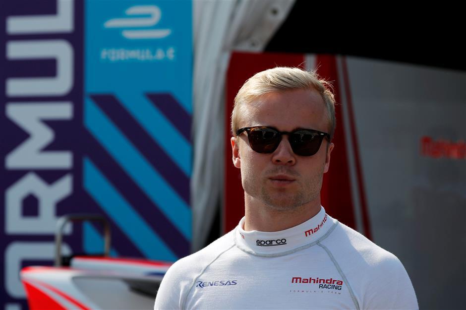 Rosenqvist inherits HK Formula E victory after Abt disqualified