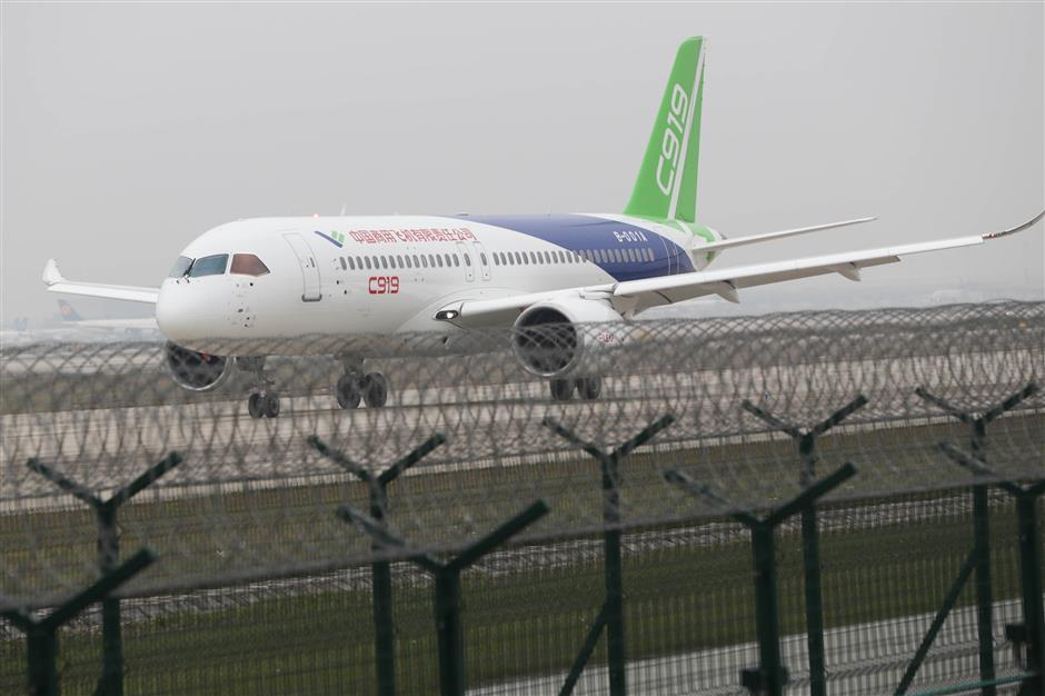 COMAC wins 55 orders for C919 from ICBC Leasing