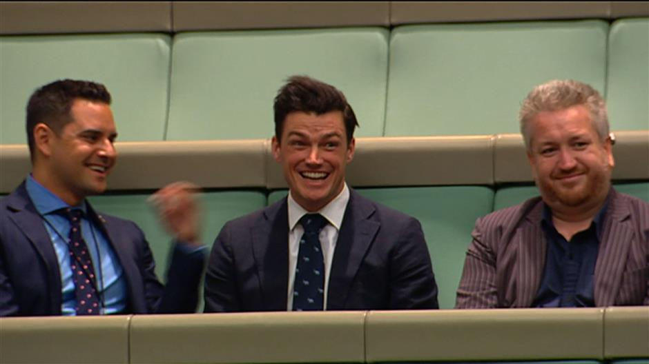Gay MP proposes during House debate
