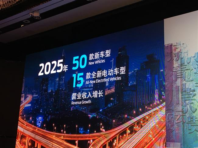 Ford expects to grow China revenue by 50 percent by 2025