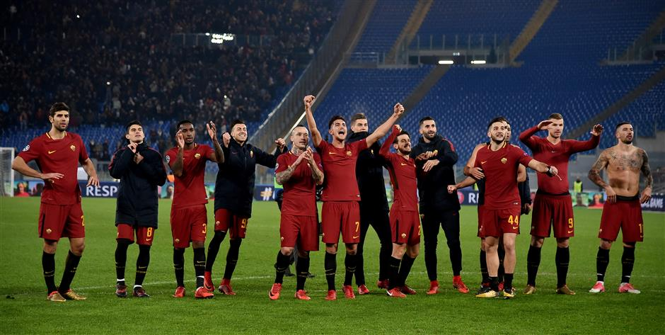 Between new stadium and Champions League, Roma on the rise