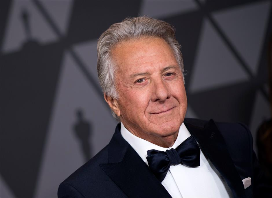 Actress accuses Dustin Hoffman of molesting her offstage