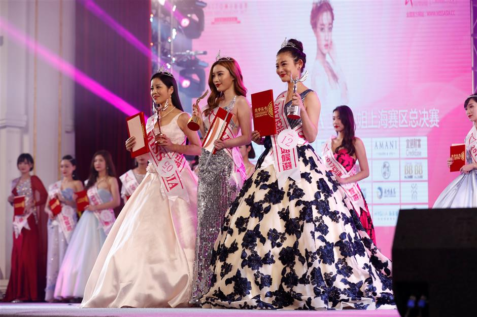 Local designer Li Shai crowned Miss Asia Shanghai 2017