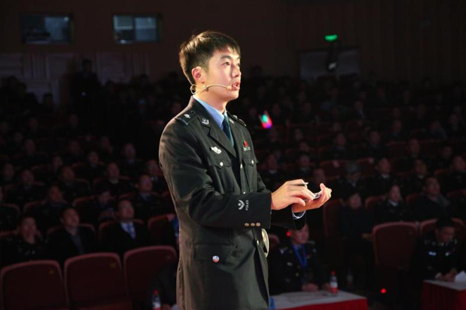 Young officer wins prison management skill competition